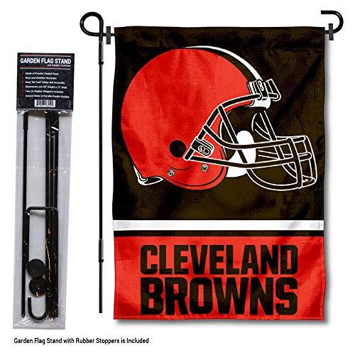 WinCraft Cleveland Browns Garden Flag with Stand Holder
