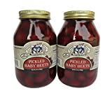 Amish Wedding Foods Pickled Baby Beets 2 - 32 oz. Jars
