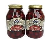 amish pickles - Amish Wedding Foods Pickled Baby Beets 2 - 32 oz. Jars