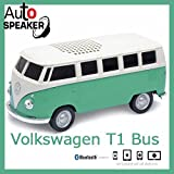 オートスピーカー 車型スピーカー 1963 フォルクスワーゲン T1バス グリーン Bluetooth スピーカー