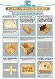 Wood Plyo Box - 18/20/24 inch 3 in 1 Plyo-Box, Plyometric Box, Plyometric Jump Box, Plyometric Jump Boxes, Box Jump Boxes, Jump Box