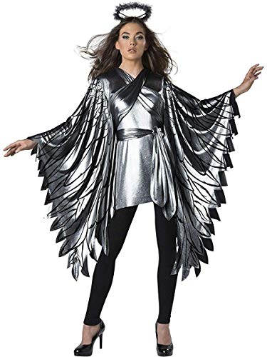 InCharacter Fallen Angel Poncho Women's Costume (One -