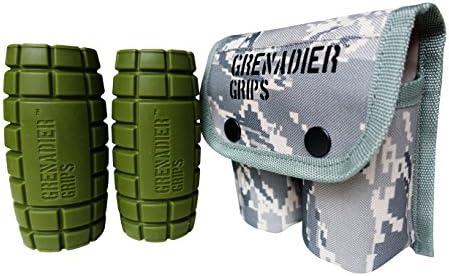 Agarre en forma de granada para pesas, GreenLong: Amazon.es ...