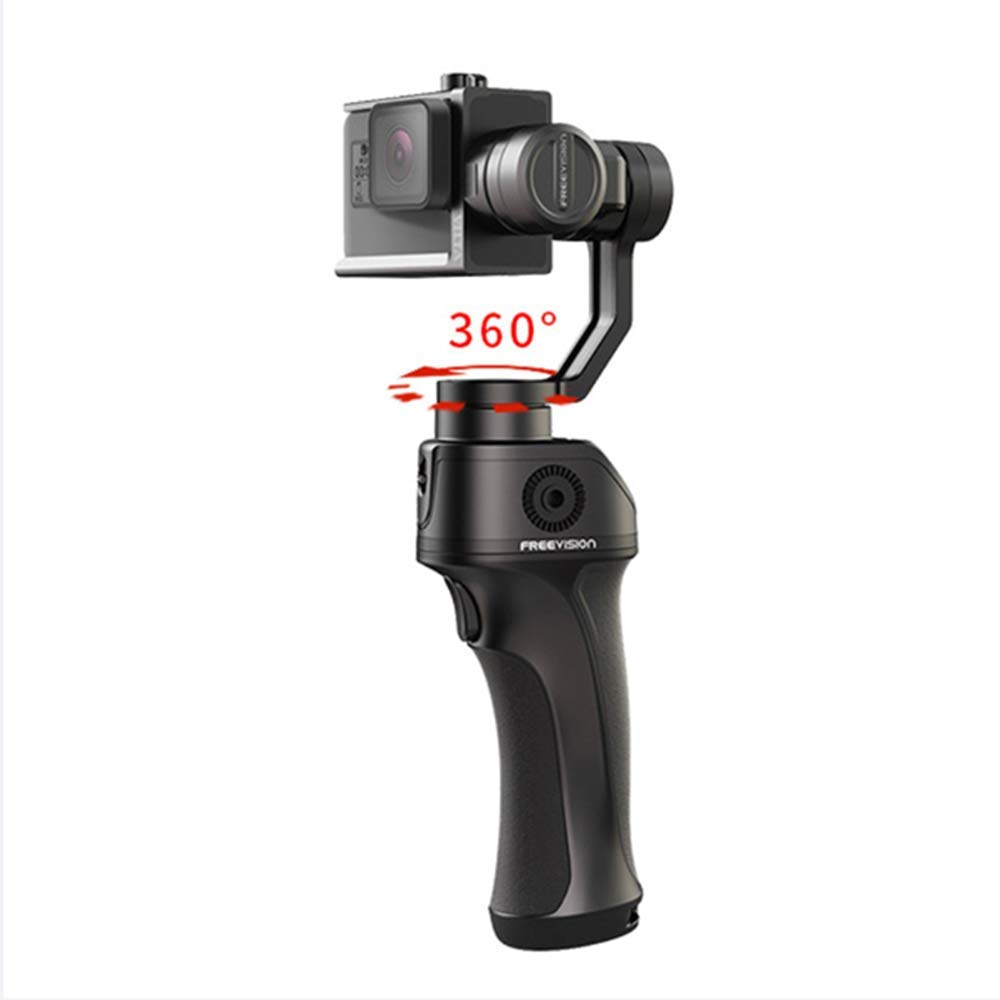 LoMe 3軸ジンバルスタビライザー 手持ちアクションカメラ 360°死角なし 折りたたみ式 スマートカメラスタビライザー   B07PVS53V7