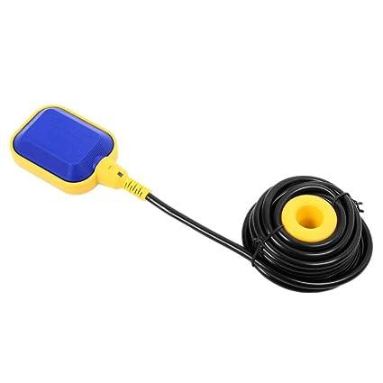 5M / 16,4 pies Interruptor de Flotador de Cable para el Tanque de Agua