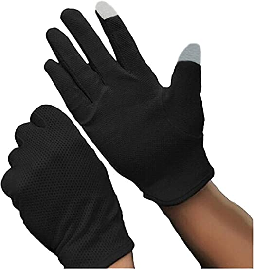 Antiskid Gloves Bike UV Protection Touch Screen Sun proof Elastic Breathable