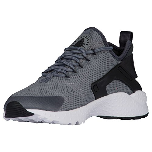 Nike Women's W Air Huarache Run Ultra Fitness Shoes, Black, 6 UK Cool Grey/Anthracite/Black/White