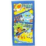 Pokemon [JUMBO beach towel] leisure bath towel / comic pop(with WAIWAI original gift!)