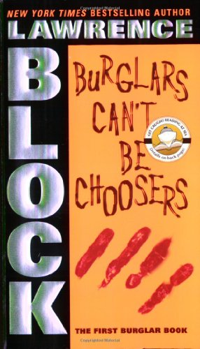 Book cover for Burglars Can't Be Choosers