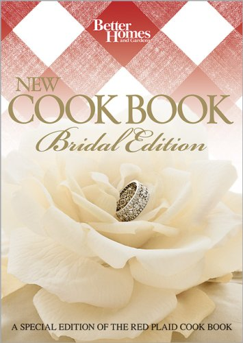 New Cook Book Bridal (Better Homes & Gardens Plaid) (Bridal Edition Cookbook)
