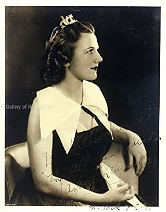Marjorie Lawrence - Inscribed Photograph Signed 05/07/1938