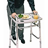 New Walker Tray Safely Carry Food Transport w/Cup Holder - Easy to use (Only 3 pcs Left)