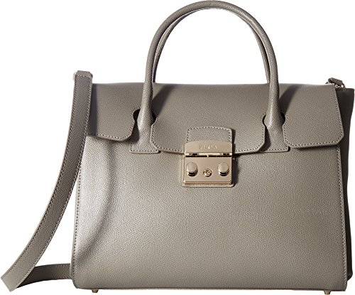 Furla Women's Metropolis Medium Satchel Argilla Handbag