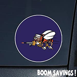 "US Navy SEABEES WWII 6"" Decal Sticker by BoomSavings"
