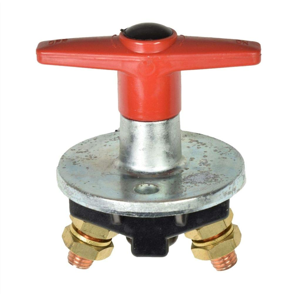 Metal Fixed Handle Type Battery Isolator Switch/Key Cut Off Power Kill Switch by Tao tao family