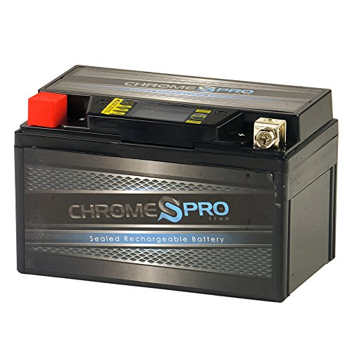 Chrome Battery YTX7A-BS High Performance - Maintenance Free - Sealed iGel Motorcycle Battery