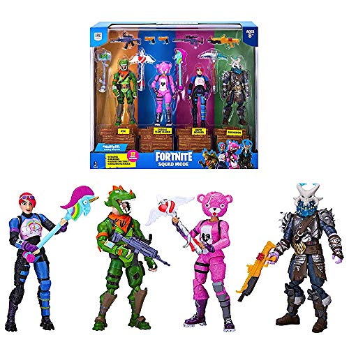 (Squad Mode Action Figure Set 4