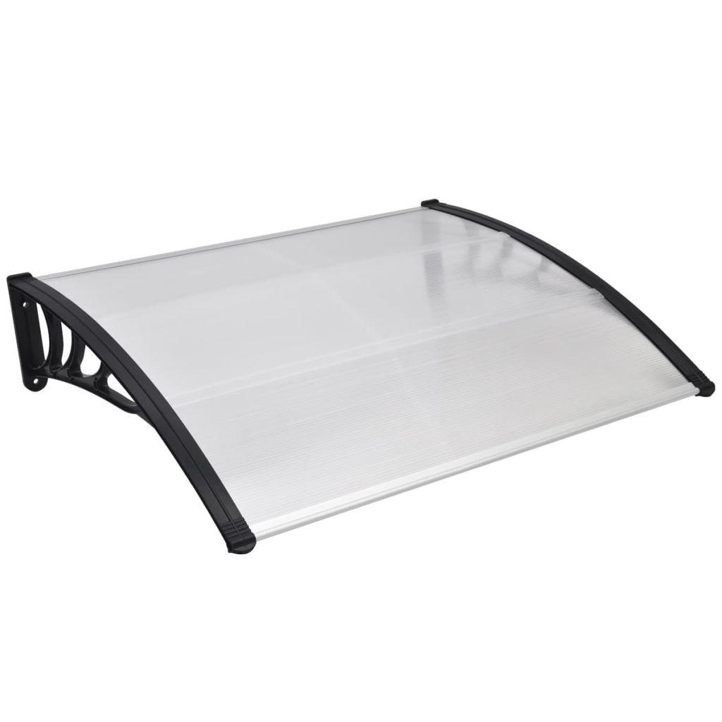 vidaXL Porta anteriore a baldacchino proteggi pioggia tettoia riparo 120 x 100cm