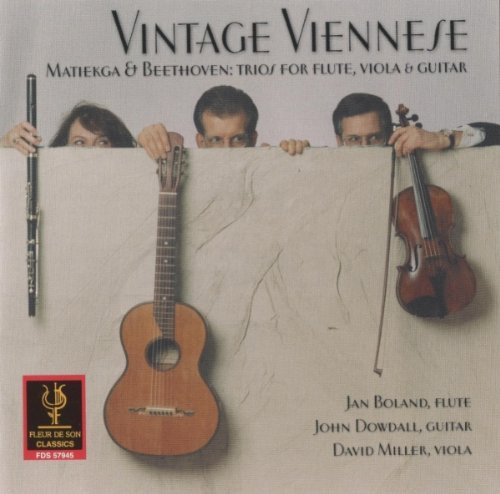 Vintage Viennese: Trios for Flute, Viola & Guitar by Matiegka (2001-01-23)