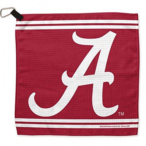 - WinCraft NCAA University of Alabama Waffle Towels, 13 x 13, Black