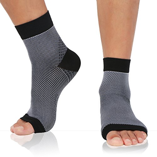 Compression Sock Sleeves for Planter Fasciitis Relief with Arch and Ankle Support, Lightweight,Attractive, Perfect for Daily Wear And Also Pain Relief From Hiking, Running, and Other Sport (X-Large)