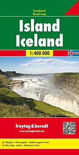 La migliore mappa di Islanda