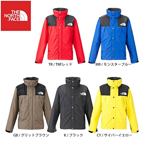 [ザノースフェイス]マウンテンレインテックスジャケット Mountain Raintex Jacket メンズ B017973RHO XXL (K)ブラック (K)ブラック XXL