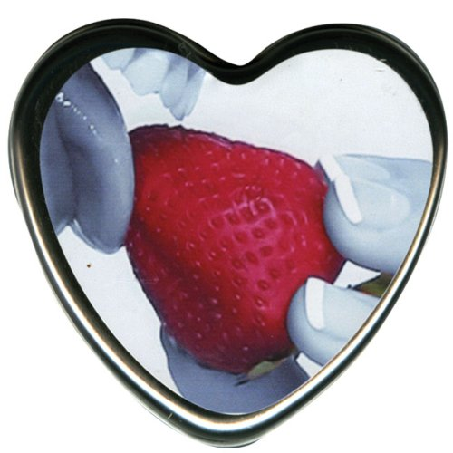 Earthly Body Edible Candle - Strawberry