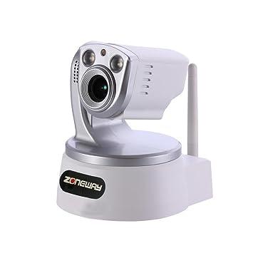 ZONEWAY zw-nc651mw-zp 1.0 MP 720P WiFi Cámara IP de ...