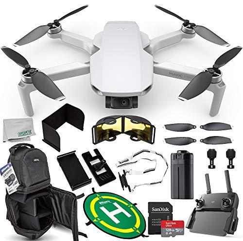 DJI Mavic Mini Portable Drone Quadcopter Ultimate 128GB Bundle - CP.MA.00000120.01 from DJI