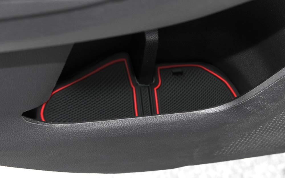 POZEL Center Console Cup Holder Liner Accessories fit Subaru Impreza and Crosstrek 2018 2019 8901726482830