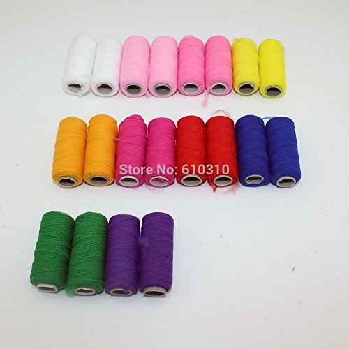 High Quality Coil Cord/nylon Thread for Nylon Stocking Flower Handmade Accessories(20pcs/lot)