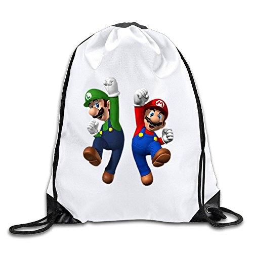 Price comparison product image Coreco Super Mario Brothers Cartoon Drawstring Backpack Sack Bag