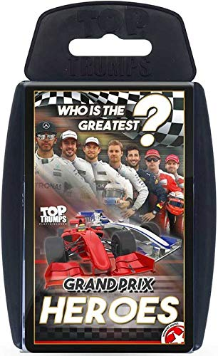 - TOP Trumps - Grand Prix Heroes! Perfect Indoors, Travelling, Camping Holidays