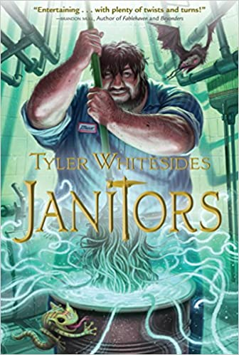 Janitors Book 1 Tyler Whitesides 9781609070656 Amazon Books
