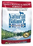 Natural Balance Dry Dog Food, Grain Free Limited Ingredient Diet Bison and Sweet Potato Recipe, 28 Pound Bag For Sale