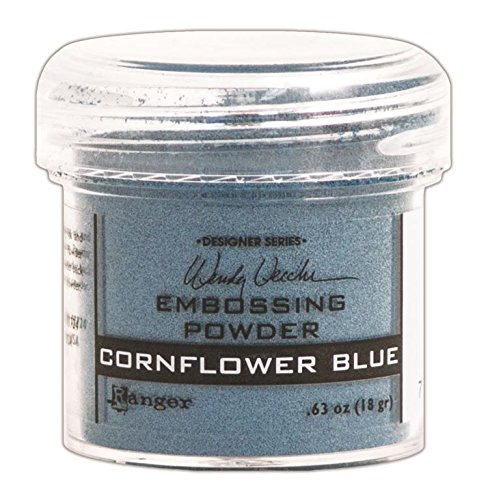 Ranger Wendy Vecchi Embossing Powders, Cornflower Blue, ()