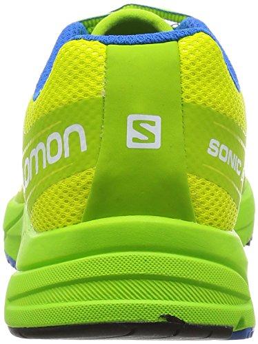 Salomon Sonic Aero Zapatillas Para Correr - AW16 gecko green/granny green/union blue
