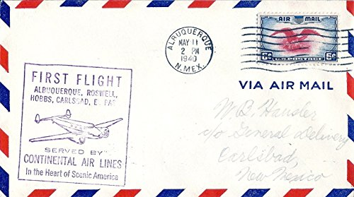 air-mail-cover-1940-first-flight-served-by-continental-airlines-albuquerque-nm-sc-c23-air-mail-posta