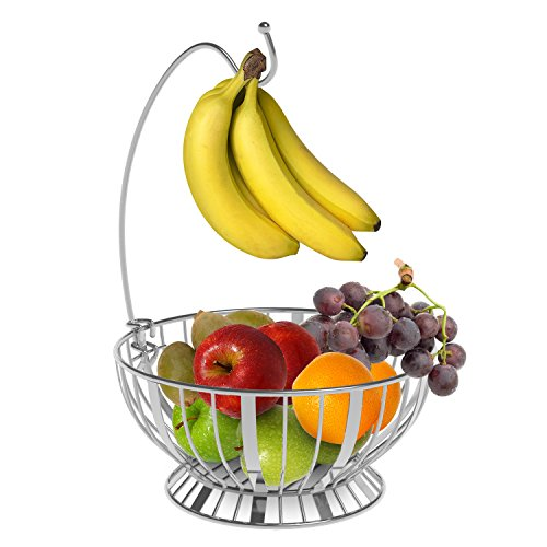 Beautiful, shiny, and heavy duty fruit basket