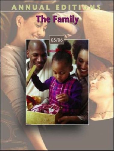 Annual Editions: The Family 05/06