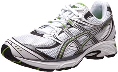 ASICS Women's GEL-Kanbarra 6 T188N.0197 Running Shoe,White/Titanium/Apple Green,6 M US