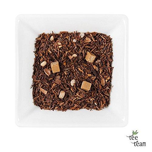 TeeTeam Rotbusch, Rooibos Tee - Rooibos Toffee Time, Toffee Tide, 500 g