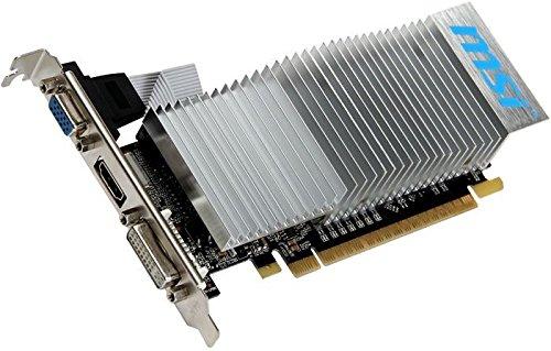 MSI  NVIDIA GeForce N610-2GD3H/LP Grafikkarte (PCI-e, 2GB GDDR3, DVI-D, HDMI, 1 GPU)
