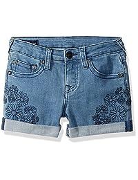 True Religion - Pantalón Corto Audrey para niña