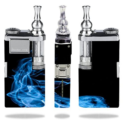 Innokin-itaste-VTR-Vape-E-Cig-Mod-Box-Vinyl-DECAL-STICKER-Skin-Wrap-ONLY-not-an-actual-vape-or-ecig-Blue-Smoke