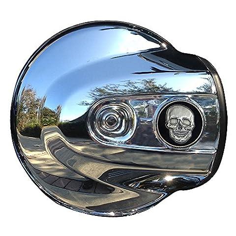 MotorDog69 Skull & Crossbones Harley Air Cleaner Coin Mount Set… (Air Cleaner Mount)