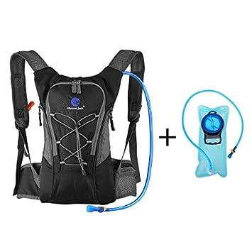 en venta 4699a 6f29b Bolsa de agua sin BPA aprobado por la FDA ideal para ciclismo, correr,  senderismo, camping, gran apertura y fácil de limpiar (3 litros)