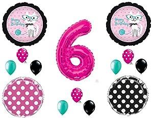 Amazoncom 6th KITTY CAT DIVA Purrfect Birthday Party Balloons