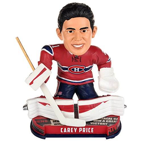 Carey Price (Montreal Canadiens) 2017 NHL Headline Bobble Head by Forever Collectibles